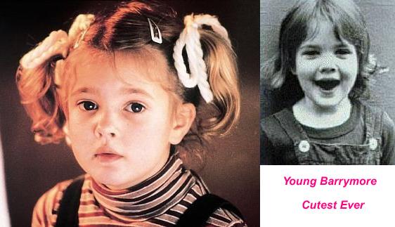 Drew Barrymore kid