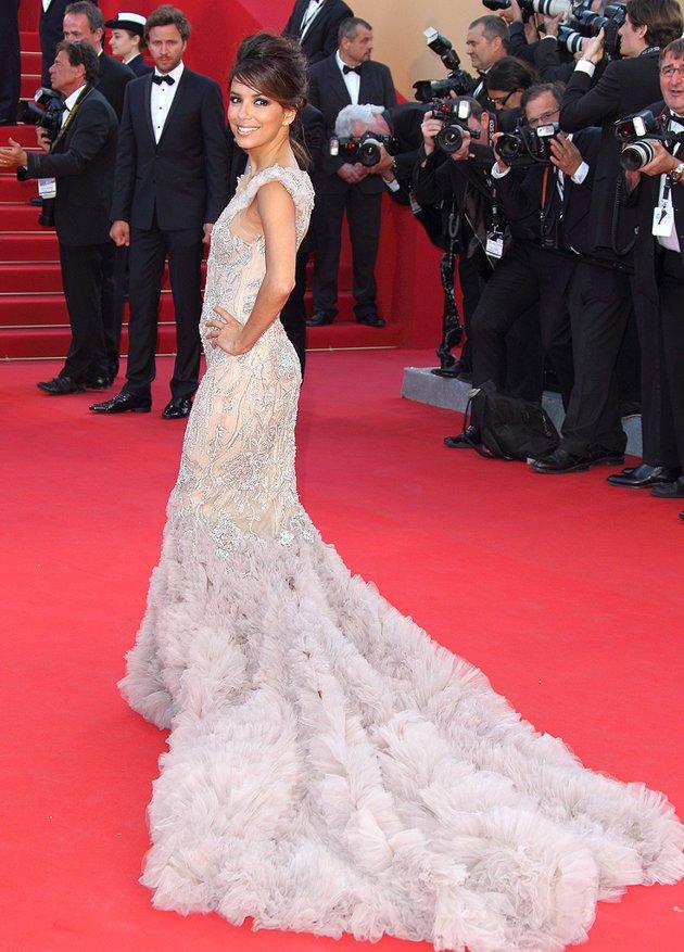 Eva Longoria Marchesa gown
