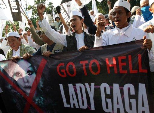 Go to hell Lady Gaga