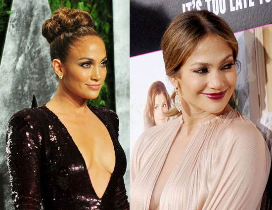 J.Lo plunging gown
