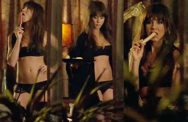 Jennifer Aniston Horrible Bosses sexy scene