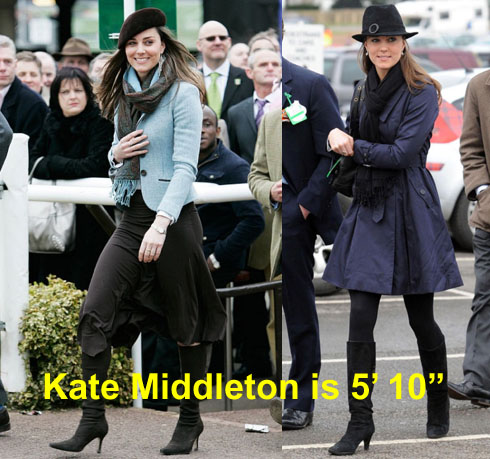 Kate Middleton Height