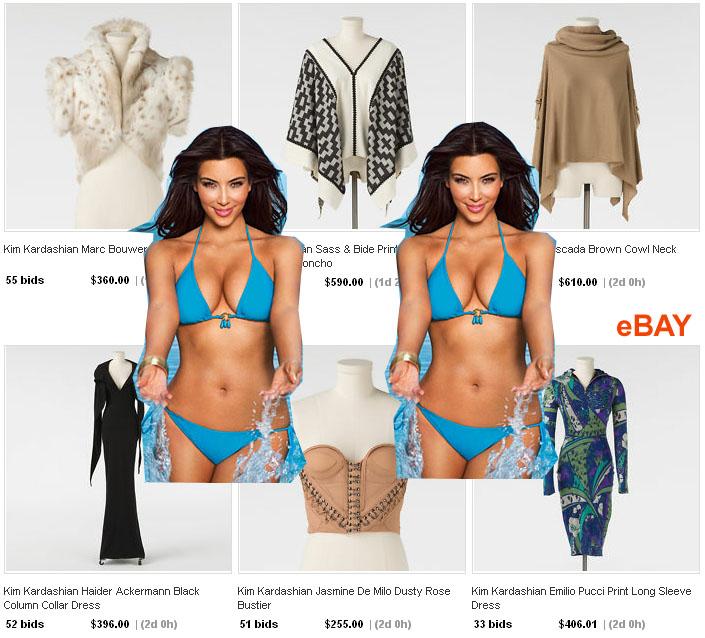 Kim Kardashian eBay clothes