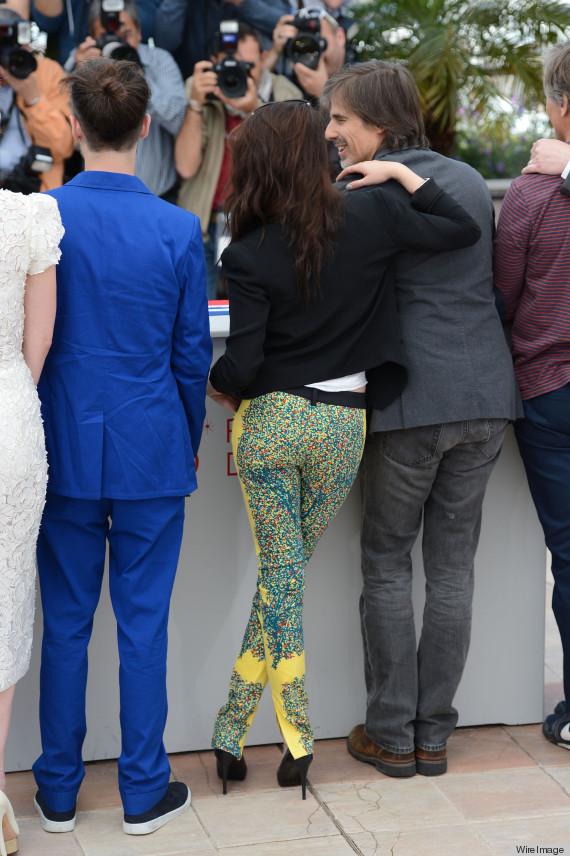 Kristen Stewart Balenciaga pants