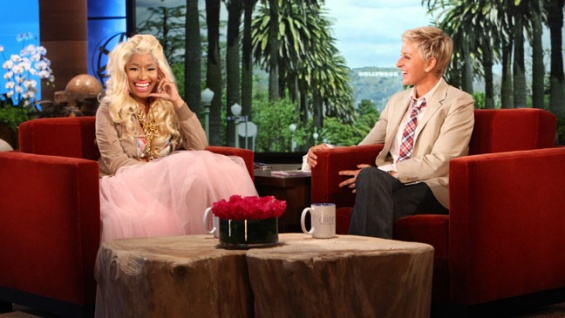 Nicki Minaj on Ellen deGeneres Show