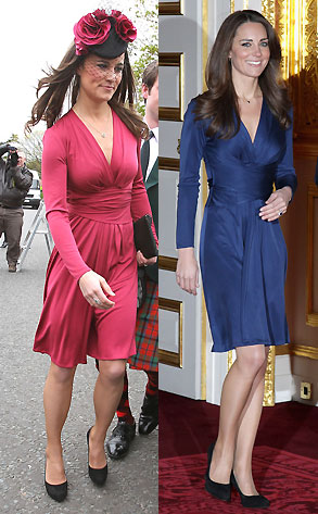 Pippa Middleton vs Kate Middleton