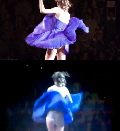 Taylor Swift Wardrobe Malfunction