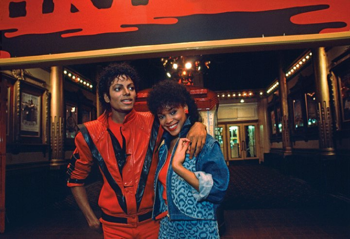 Michael Jackson and Ola Ray