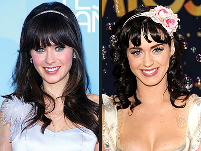 Zooey and Katy Perry