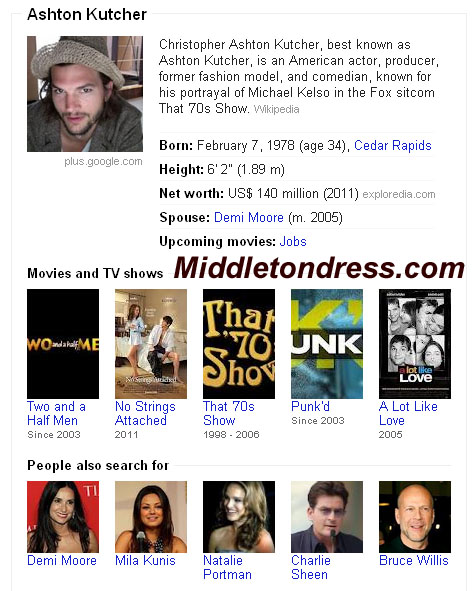 Ashton Kutcher Google