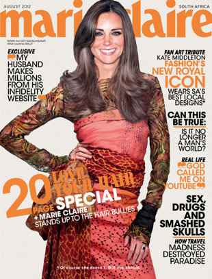 Kate Middleton Marie Claire Cover