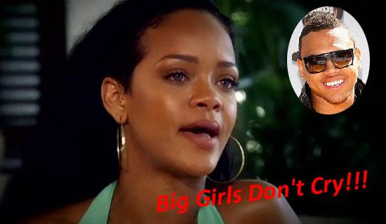 Rihanna Cries