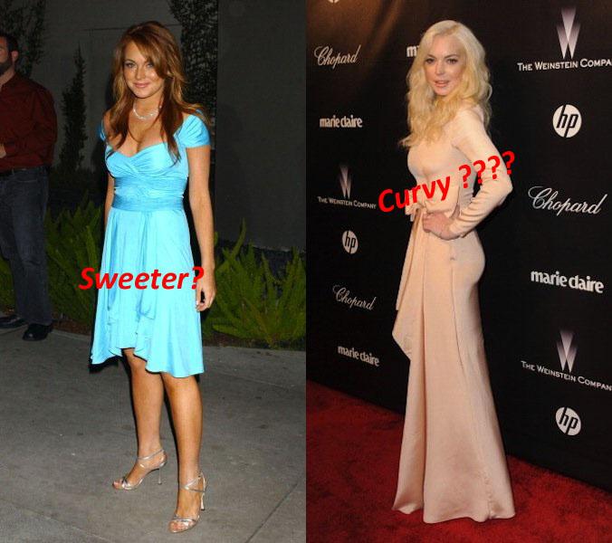 Lindsay Lohan before after