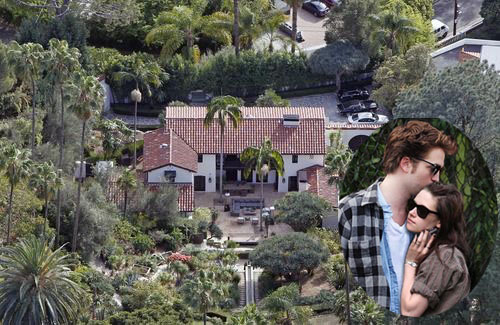 Robert Pattinson Home