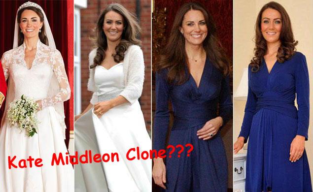 Kate Middleton look-alike