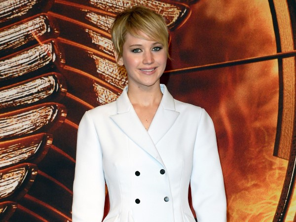 Jennifer Lawrence Short Hair Look
